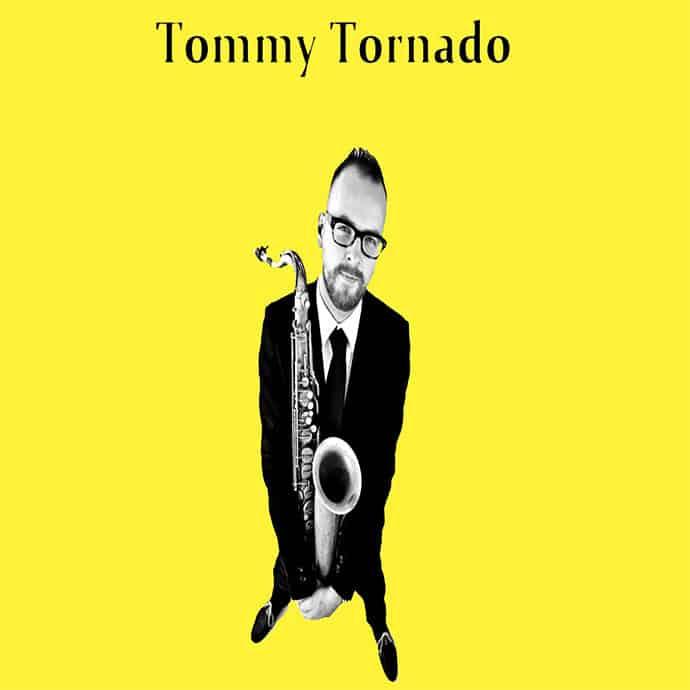 Artiestenbanner van Tommy Tornado