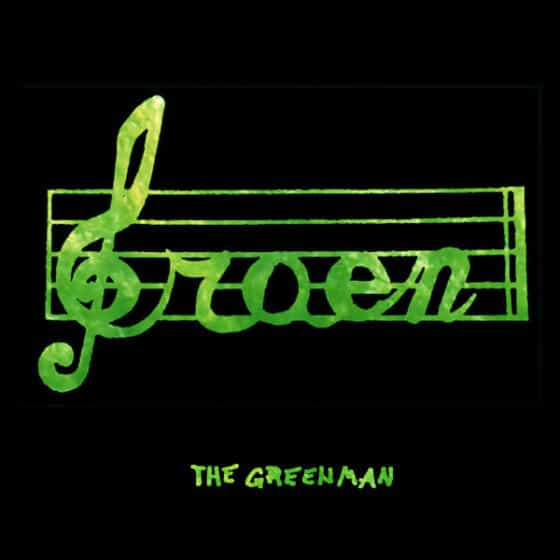 Groen albumhoes